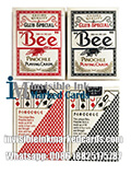 bee pinochle marked cards