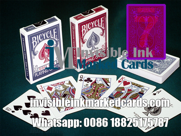 bicycle 808 cheating poker cards