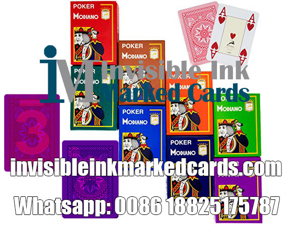 Modiano Luminous Marked Cards