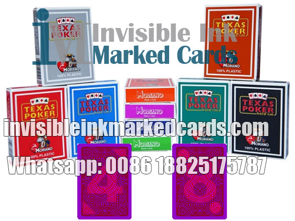 Modiano Texas Holdem Gambling Marked Cards