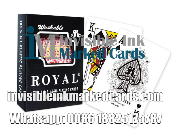 Royal Brand Marked Cheating Playing Cards