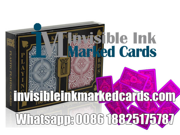 US KEM Invisible Ink Marked Cards