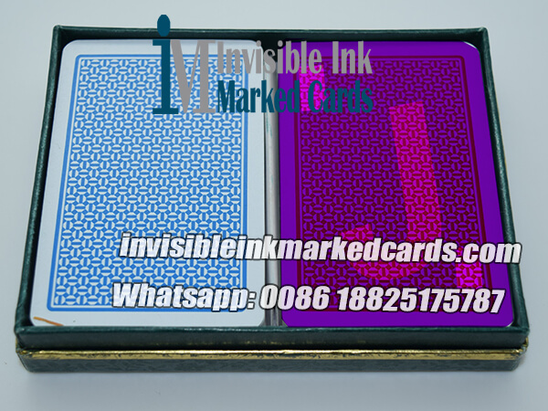 a plus invisible ink playing cards