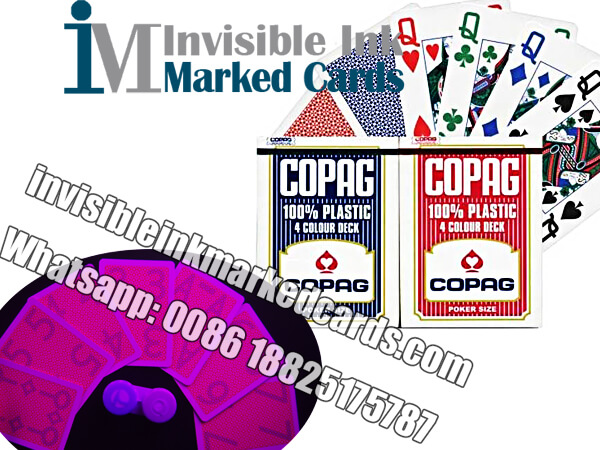 copag 4 color marked cards