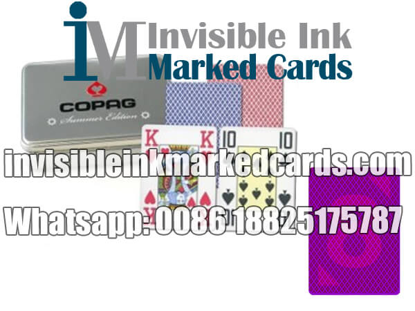 Copag Summer Edition Marked Deck of Cards