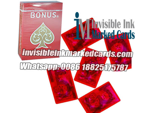 bonus invisible ink marked cards