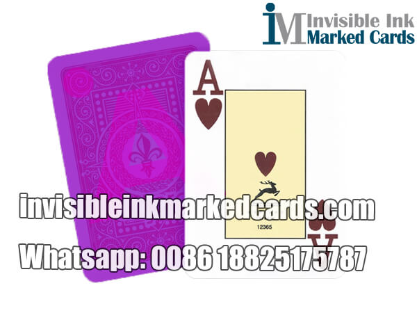 modiano adjara marked cards