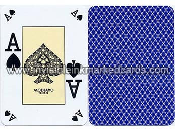 modiano poker index marked cards deck