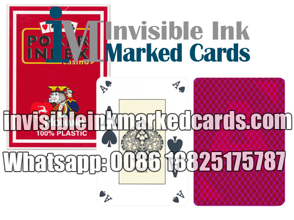 modiano poker index cheating poker marked cards