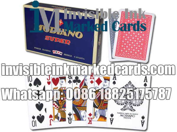 modiano super fiori marked deck