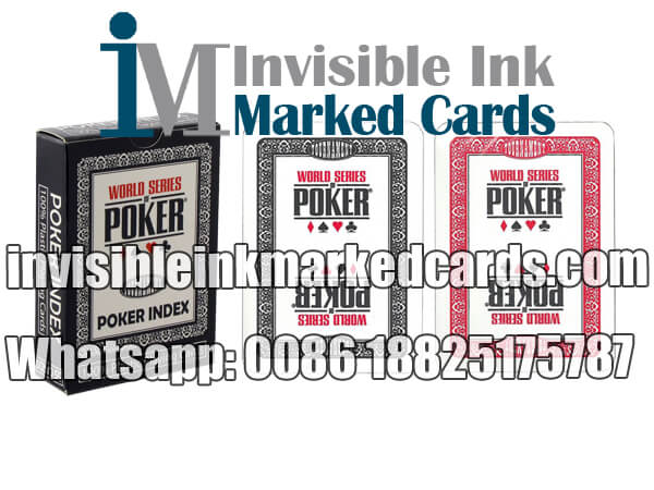 modiano wsop poker cheat card