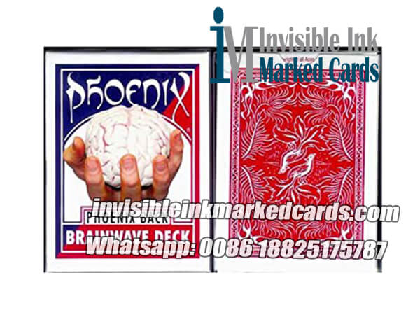 Phoenix Parlour Brainwave Marked Cards