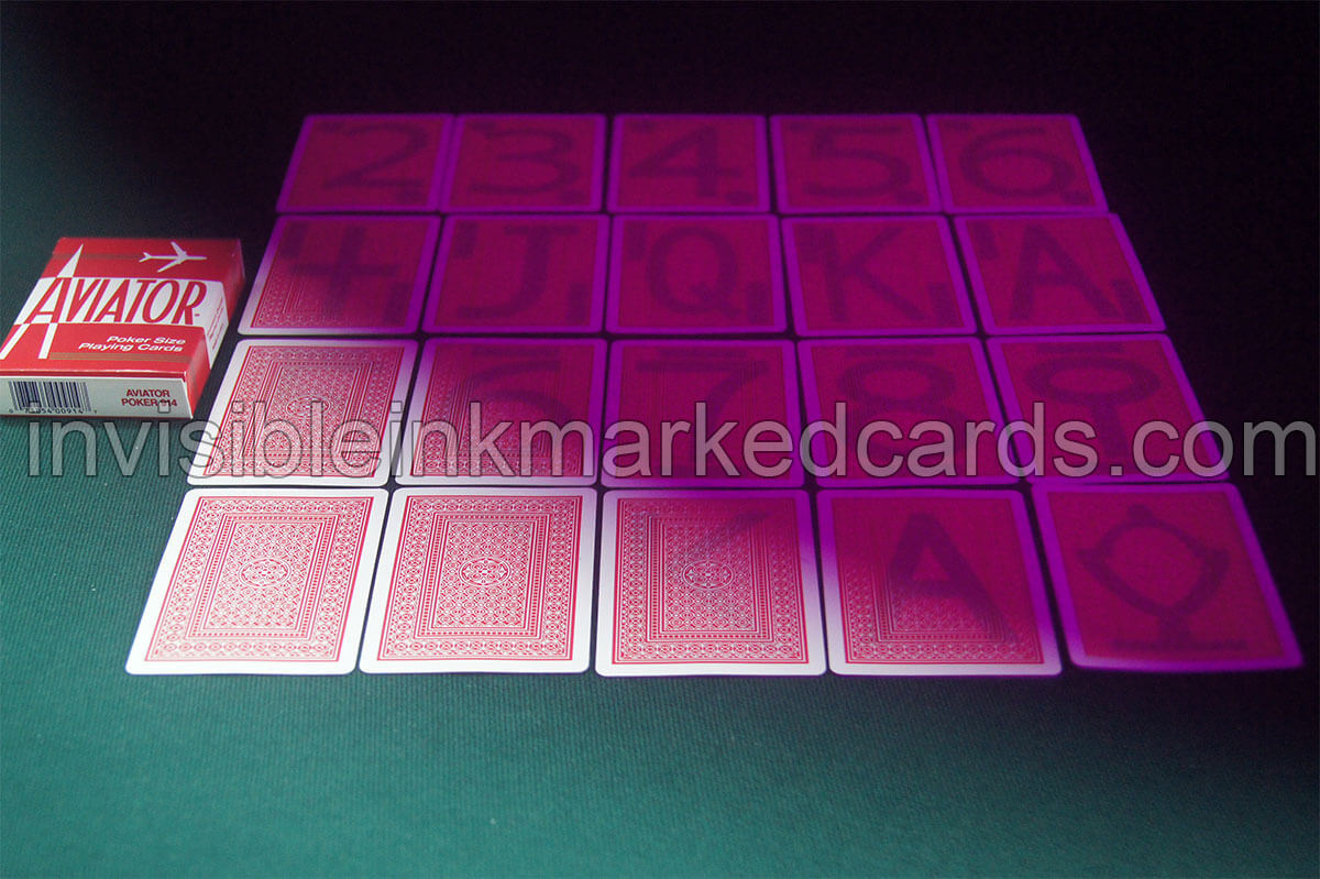 Aviator Luminous Marked Card Deck