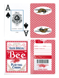 Bumble Bee Jumbo Index Marked Cards