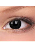 Invisible Ink Contact Lenses for Dark Eyes
