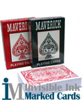 maverick invisible ink marked cards