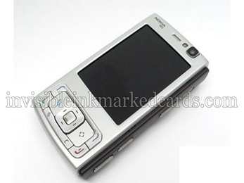Nokia N95 Scanning Camera, Mobile Phone Scanning Camera, Scanning Camera, Marked Cards