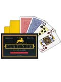 Modiano Platinum Acetate Marked Cards 2 Deck Set