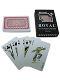 Royal Plastic Marked Cards