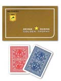 Double Decks Golden Trophy Marked Poker Cards
