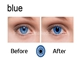 Contact Lenses for Blue Eyes, IR or UV Contact Lenses, Marked Cards