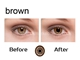Contact Lenses for Brown Eyes, IR or UV Contact Lenses, Marked Cards